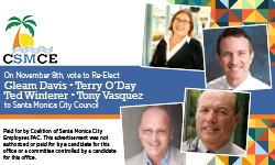Banner ad for Santa Monica Municipal Employees Election 2016