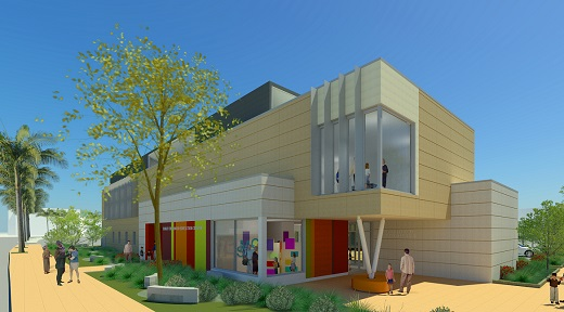 Rendering of early childhood center