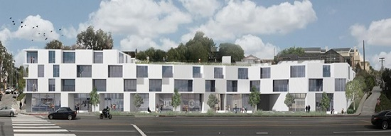 Proposed project at 2903 Lincoln Boulevard